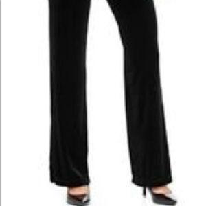 👑2 Pairs ,Black Velvet Pants Size XL by ELEMENTS